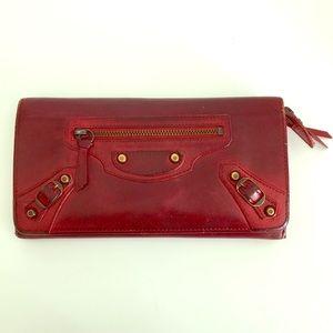 Balenciaga wallet *very well loved*